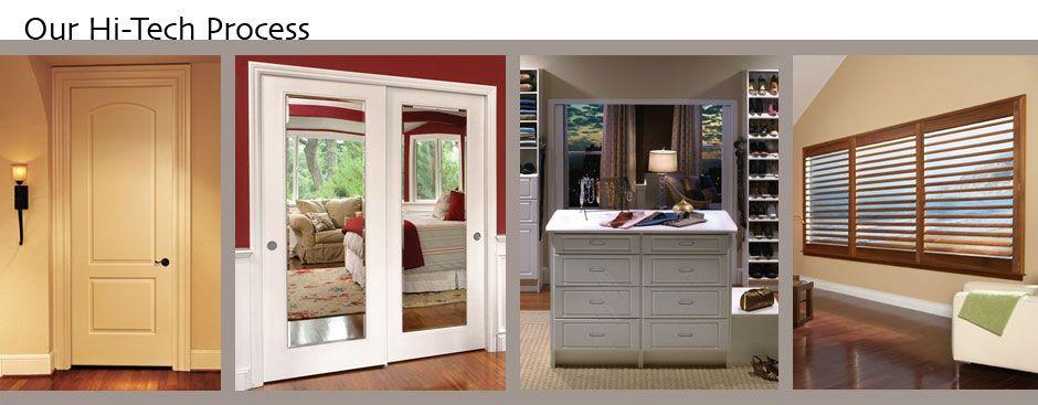 The Hi Tech Process Interior Door Closet Company For The Home
