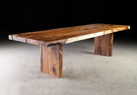 Phillips Collection Chamcha Wood Dining Table 10 Long