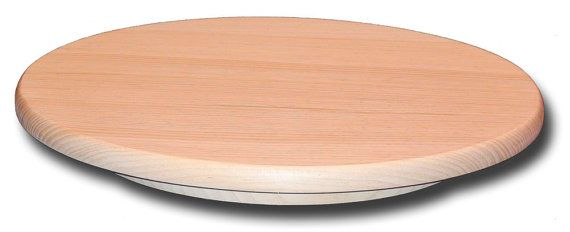 Elegant PINE LAZY SUSAN   26 Inch Diameter Wooden Turntable   Sugar Pine    Unfinished Furniture
