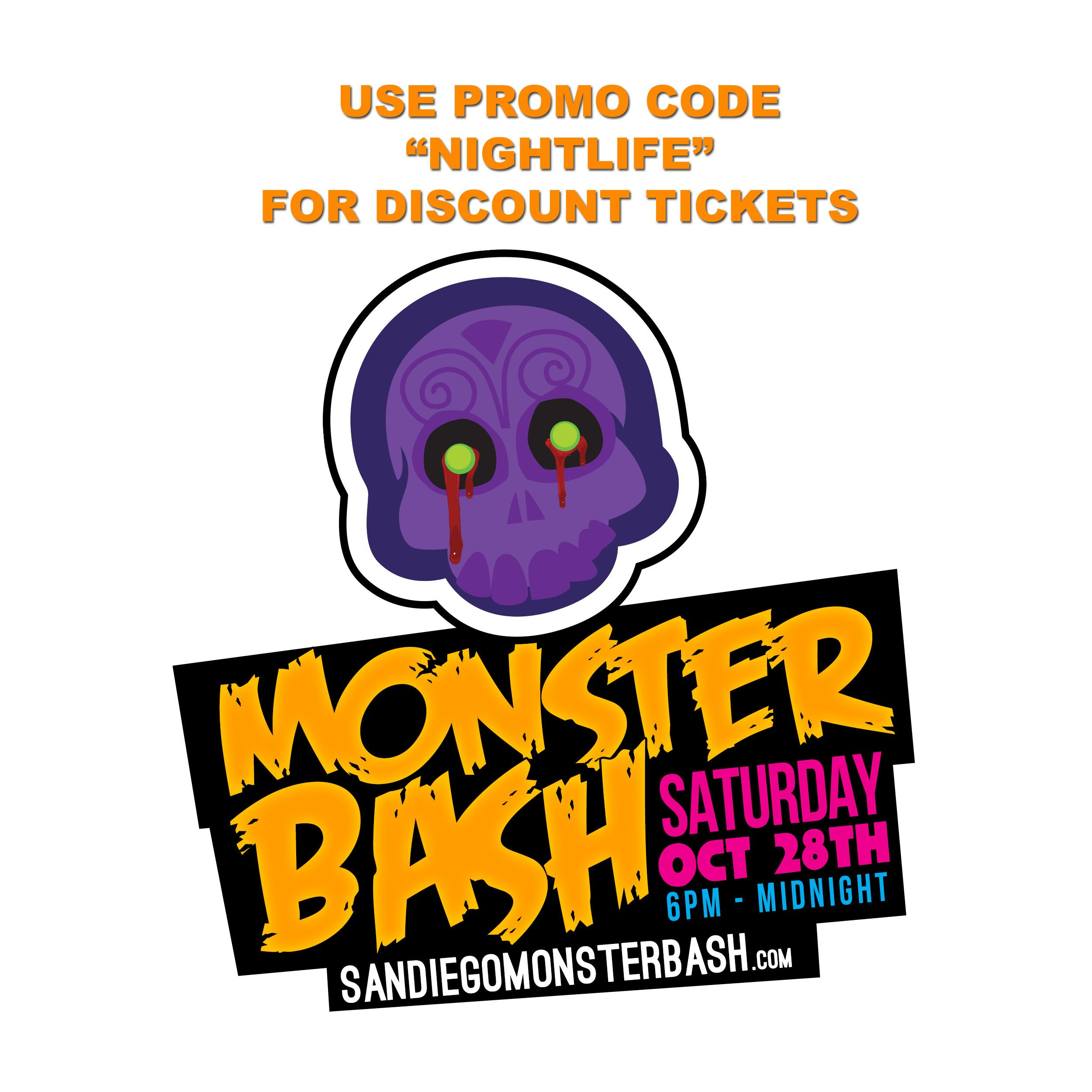 MONSTER BASH GASLAMP HALLOWEEN PARTY SAN DIEGO DISCOUNT TICKETS ...