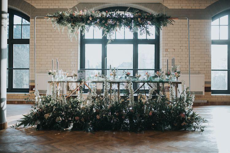 Industrial Into The Wild Greenery Wedding Ideas
