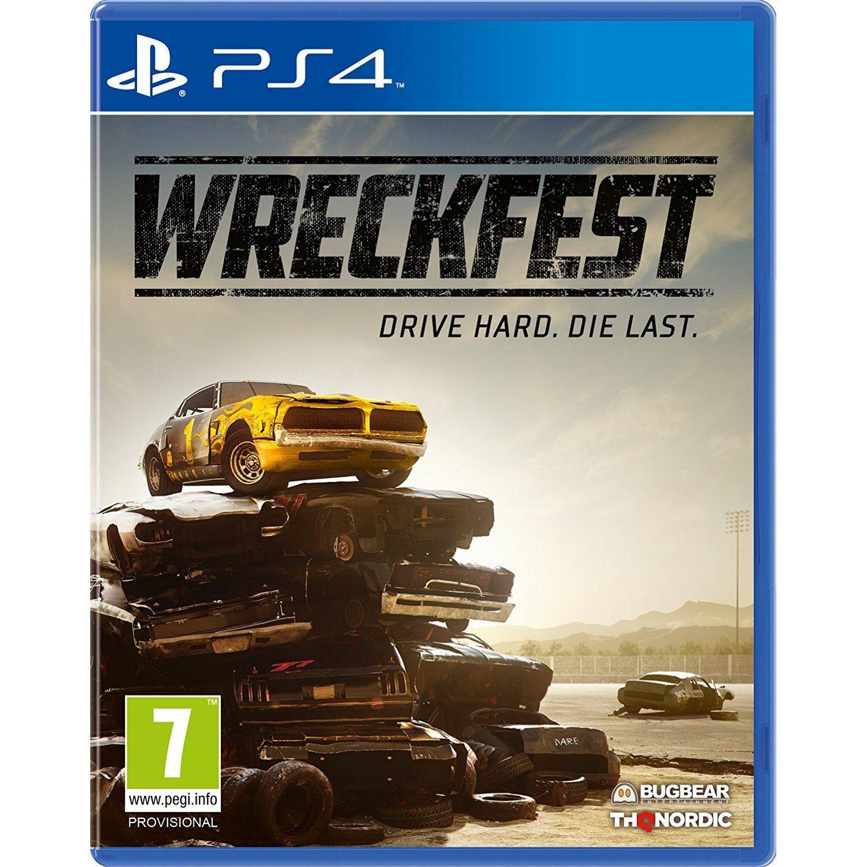 Wreckfest Xbox one, Xbox one games, Xbox