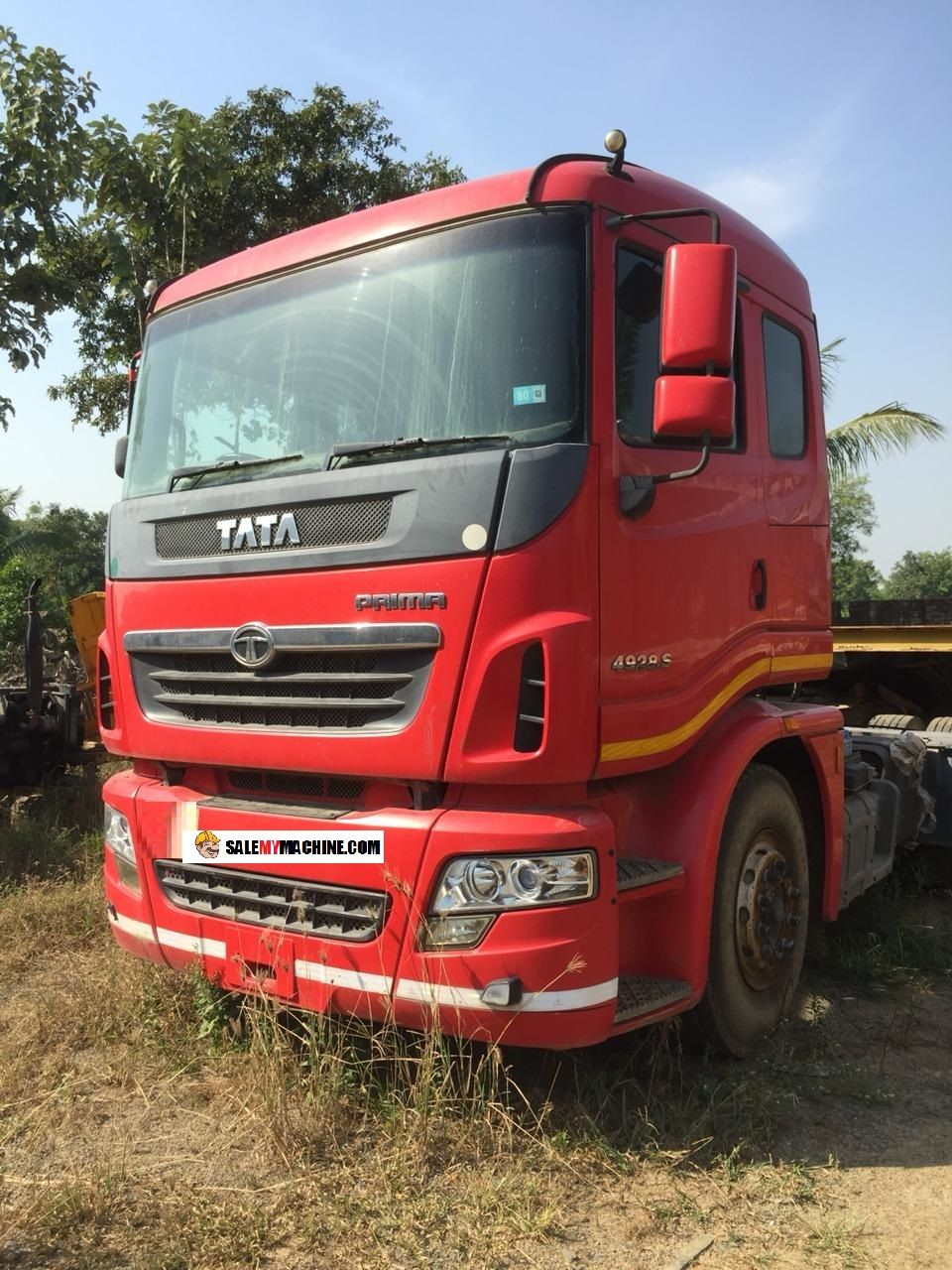 Find used second hand tata prima 4928s horse with tip and