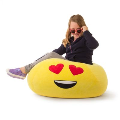 Acessentials Emoji Bean Bag Chair Reviews Furniture Macy S In 2020 Bean Bag Chair Emoji Bean Bag Bag Chair