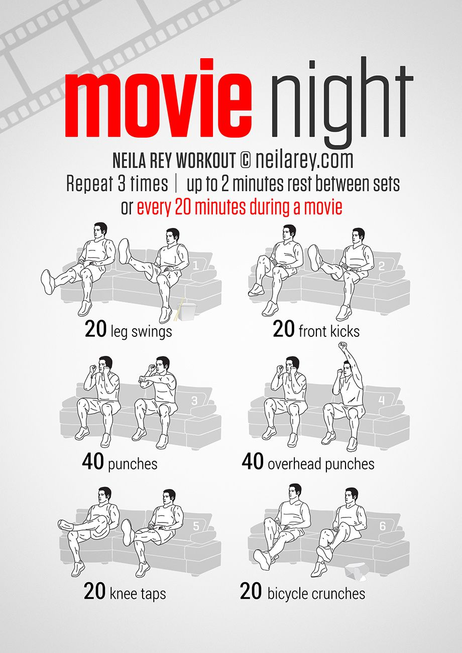 Sofa Workout Get Fit From The Couch Excercise Exercise Workout Night Workout