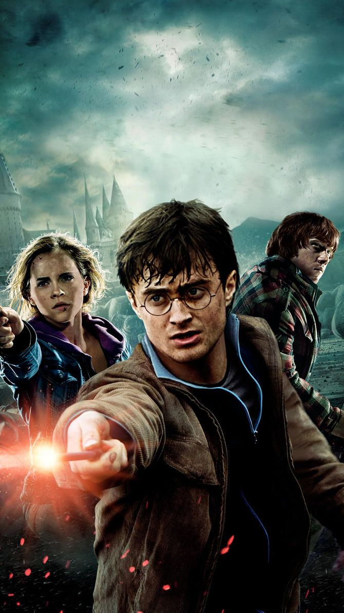 Harry Potter And The Deathly Hallows Part 2 2011 Phone Wallpaper