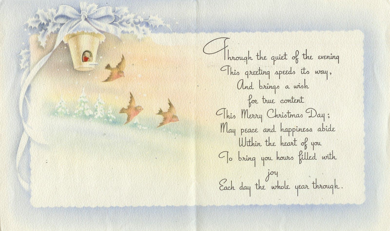 Christmas Card Sayings Wanted To Share This Christmas Greeting I