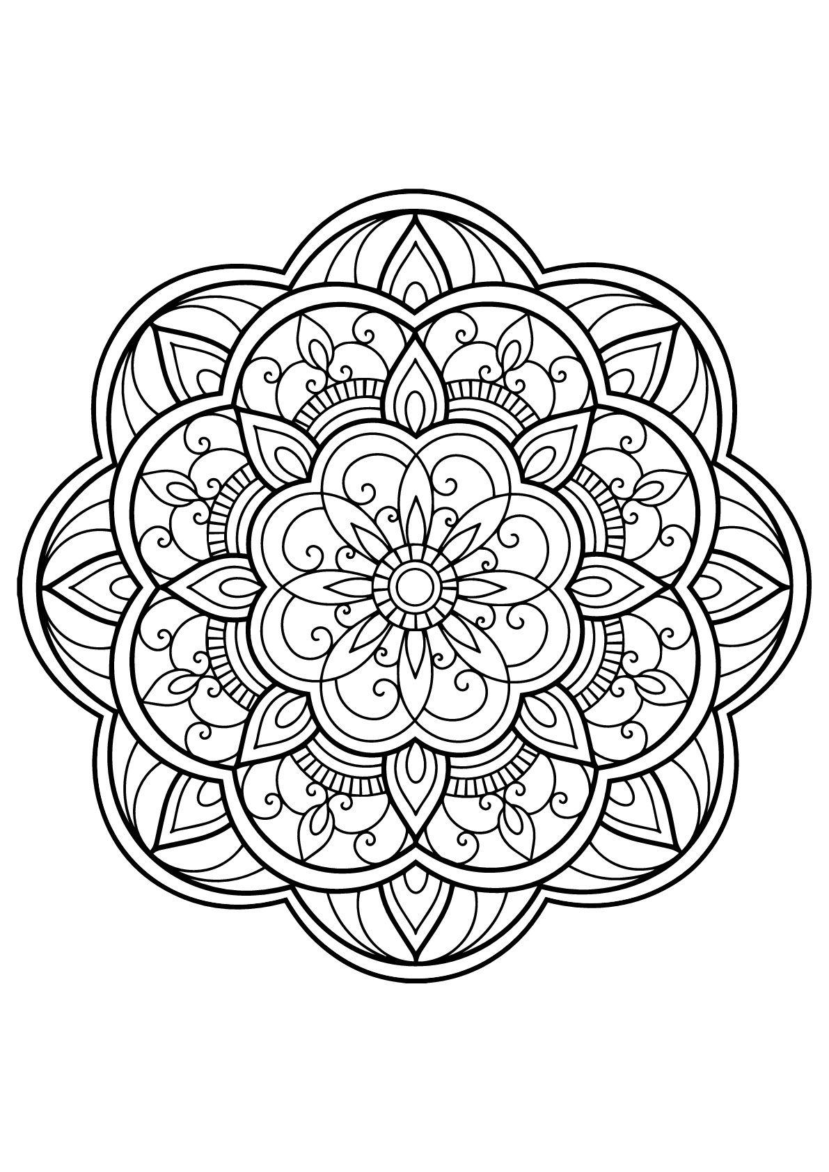 mandala aus free malbuch für erwachsene aus der galerie