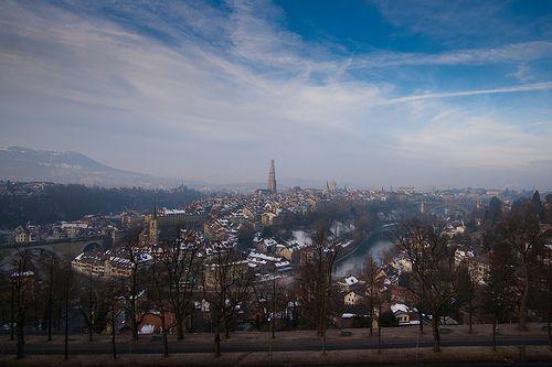 Bern in the morning