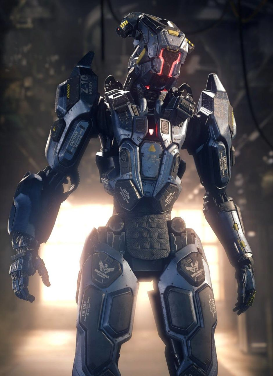 call of duty black ops 3 reaper variant 2peter zoppi | robotic