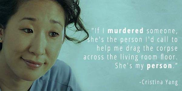 Greys Anatomy Quotes That Prove Why Its The Best Show Ever Shondaland Quotes Greys Quotes Cristina Yang Quotes Sandra Oh Quotes