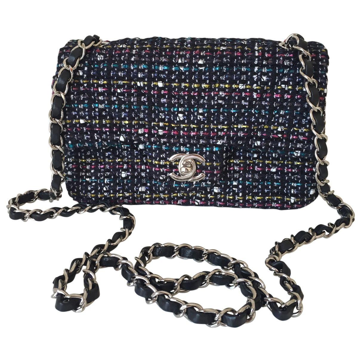 Multicolour Cotton Handbag Timeless Chanel Multicolour Cotton Handbag Timeless Bags Handbag