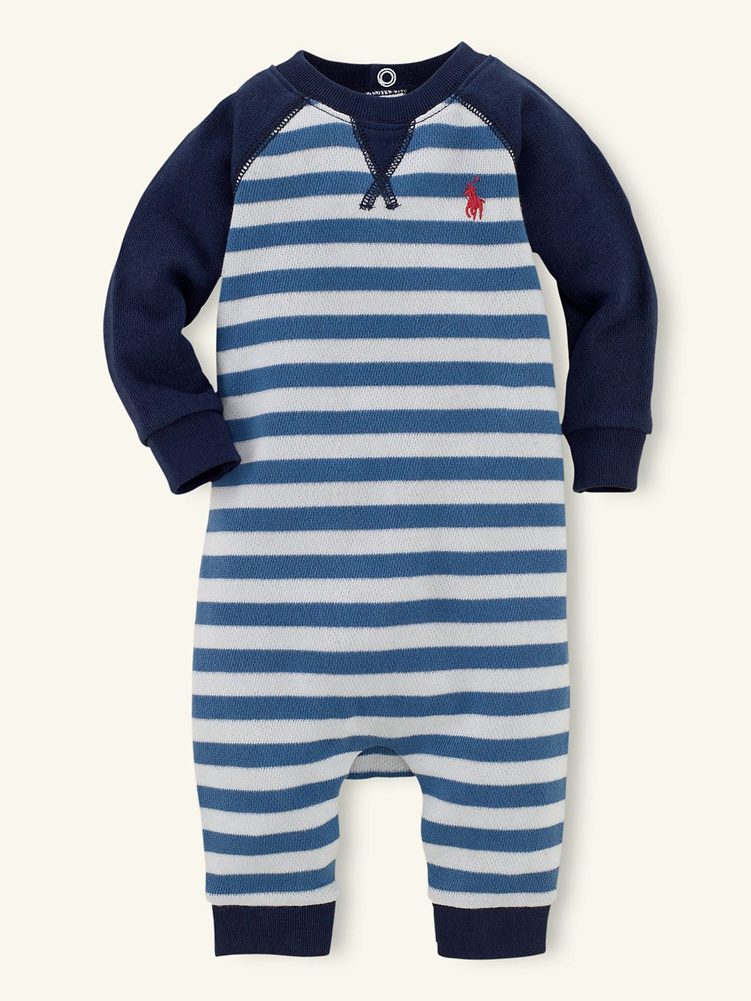 db8fe97eae75 Color-Blocked Cotton Coverall - One-Pieces Layette Boy (Newborn–9M ...