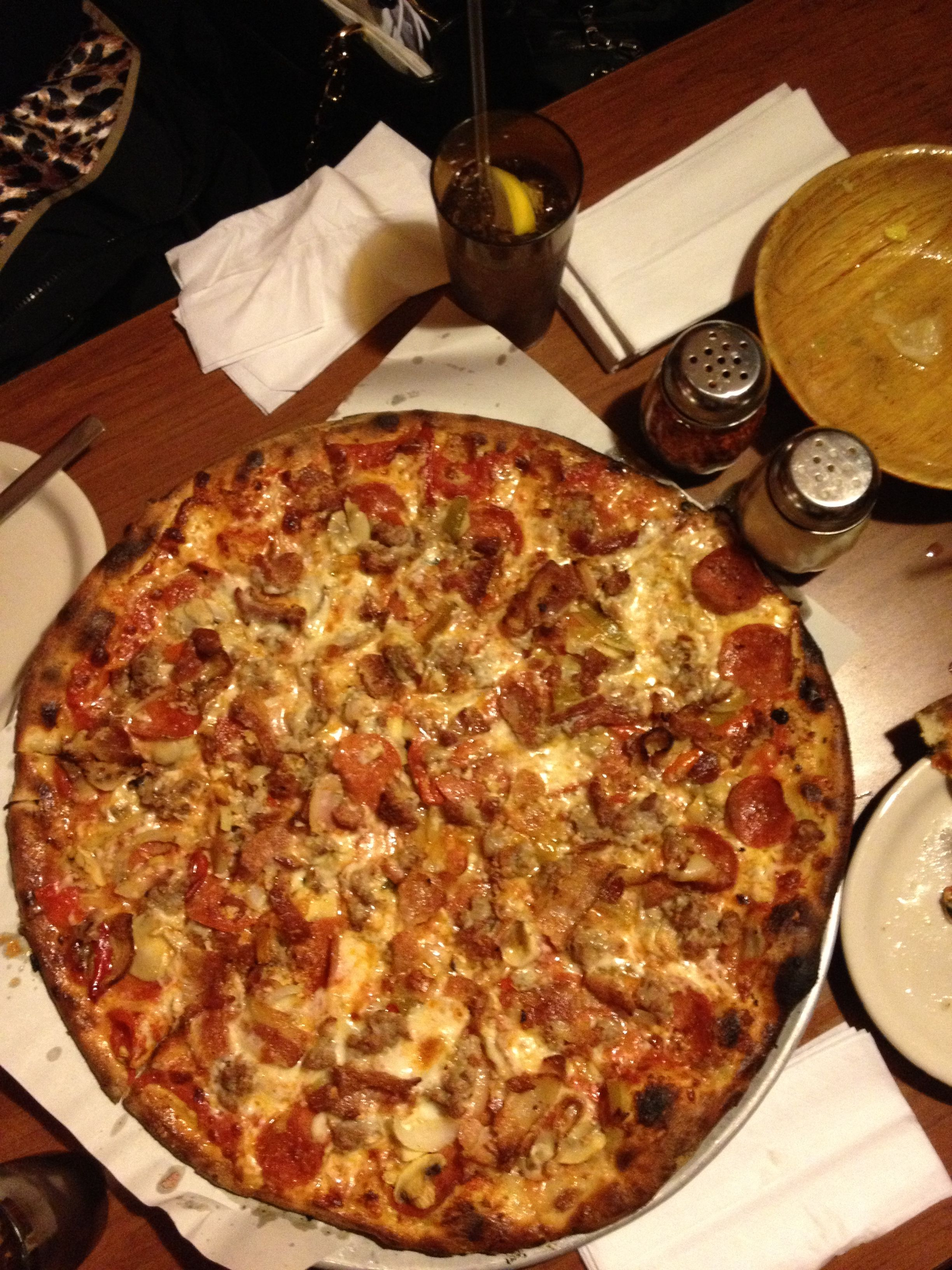 Italian Bomb Pizza At Modern Apizza In New Haven Ct Buy Modern Furniture Haven Restaurant Pizza Review