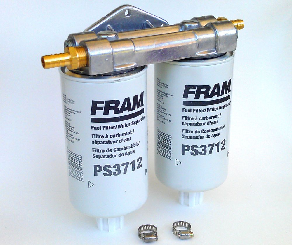 medium resolution of wvo bio diesel dual remote mount for fram ps3712 fuel filter water separators