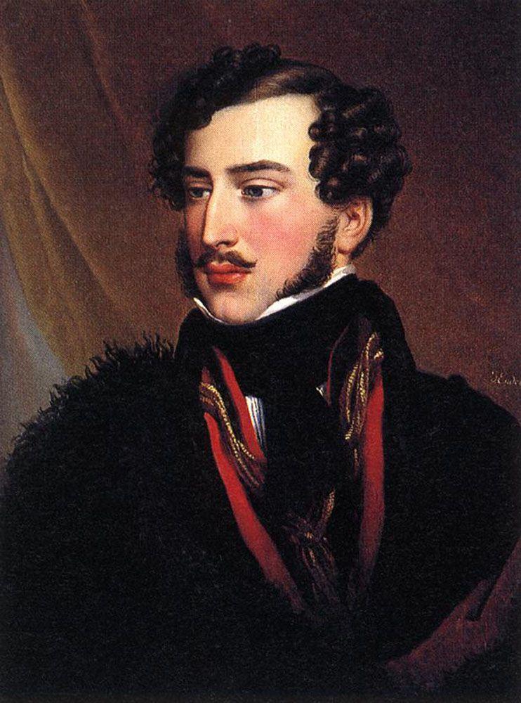 Portrait of Count Gyorgy Karolyi by Johann Nepomuk Ender (Austrian 1793 -1854)