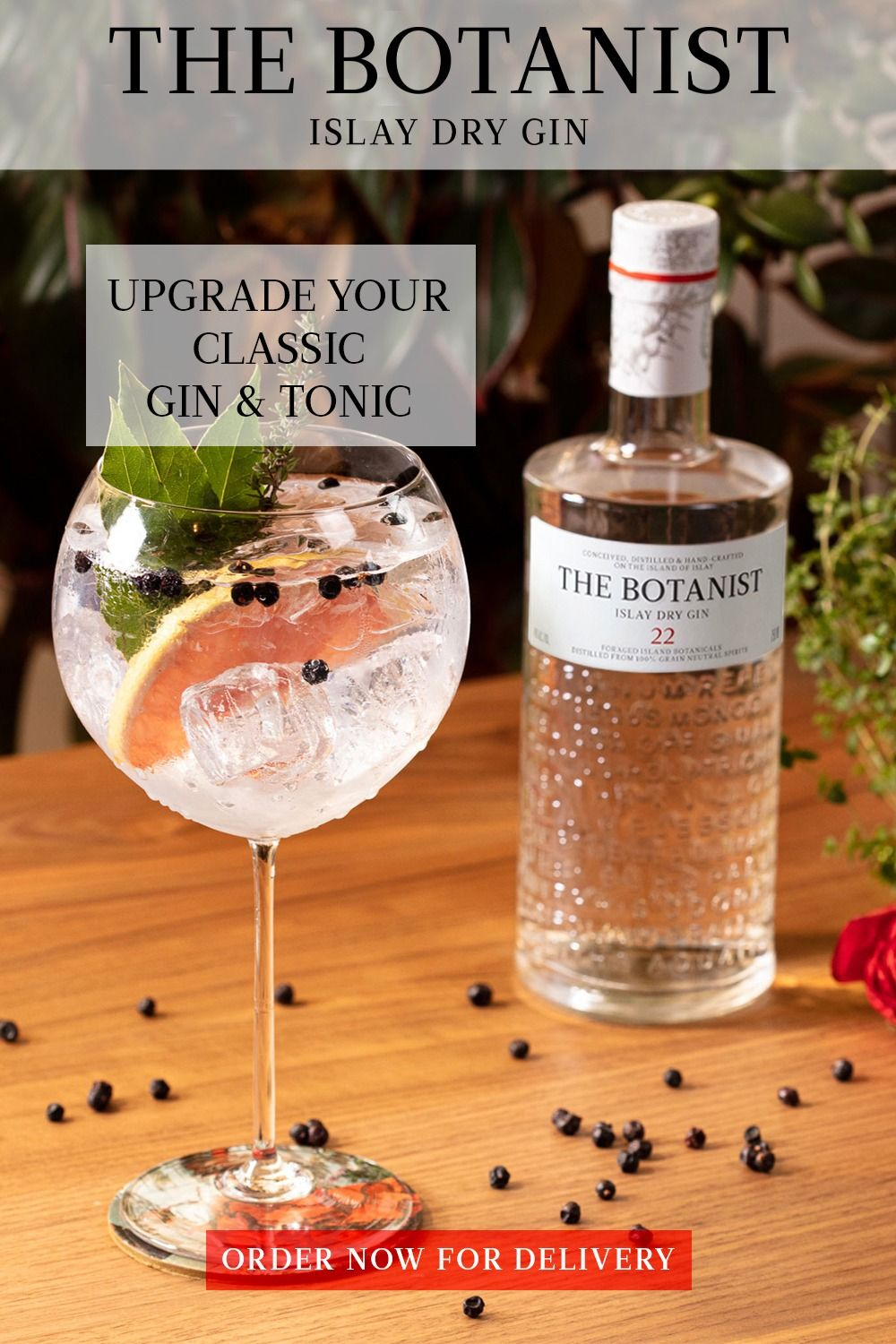The Botanist Gin Tonic Recipes For Summer Dry Gin Gin Tonic Recipe Botanist Gin