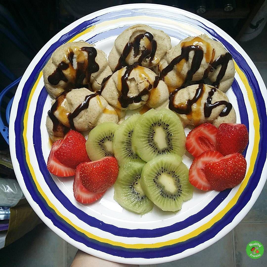 Después del ejercicio iia zampar!!. #desayunoshealthyfranita #adelgazar…