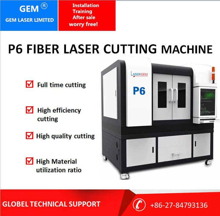 High precision fiber laser cutting machine, small eyeglass