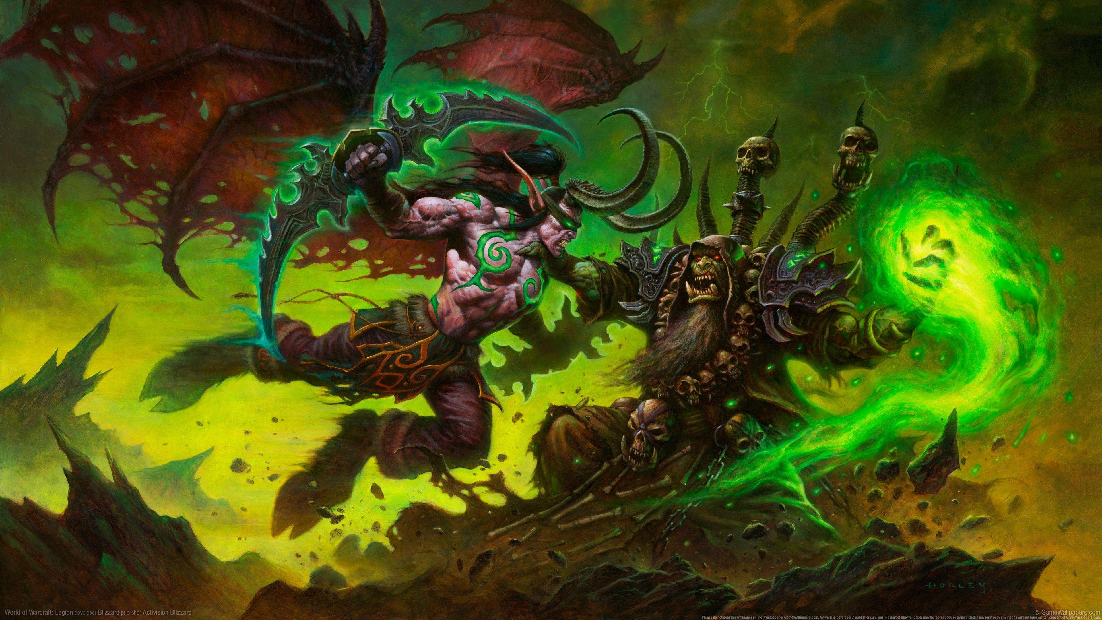 Wallhaven 416469 Jpg 3840 2160 World Of Warcraft Legion World