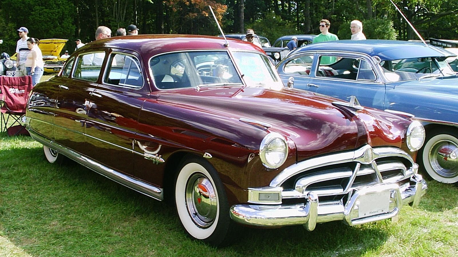 The Hudson Hornet is an automobile that was produced by the Hudson ...