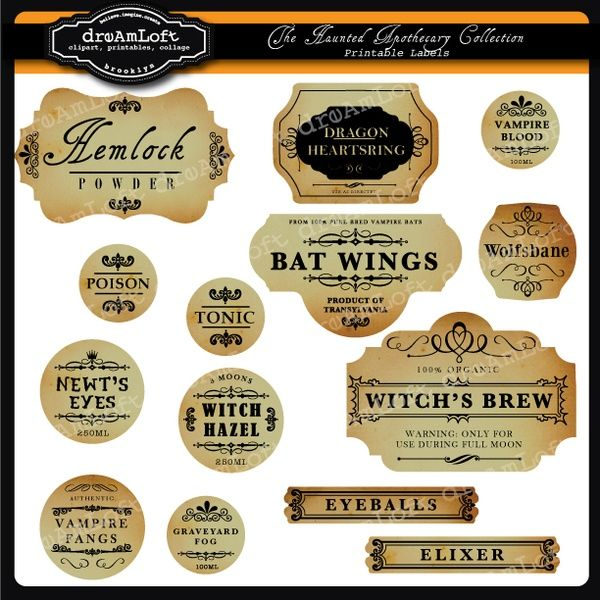 picture regarding Harry Potter Potion Labels Printable referred to as Potion labels harry-potter-social gathering - hyperlink lousy, Yet Ideal