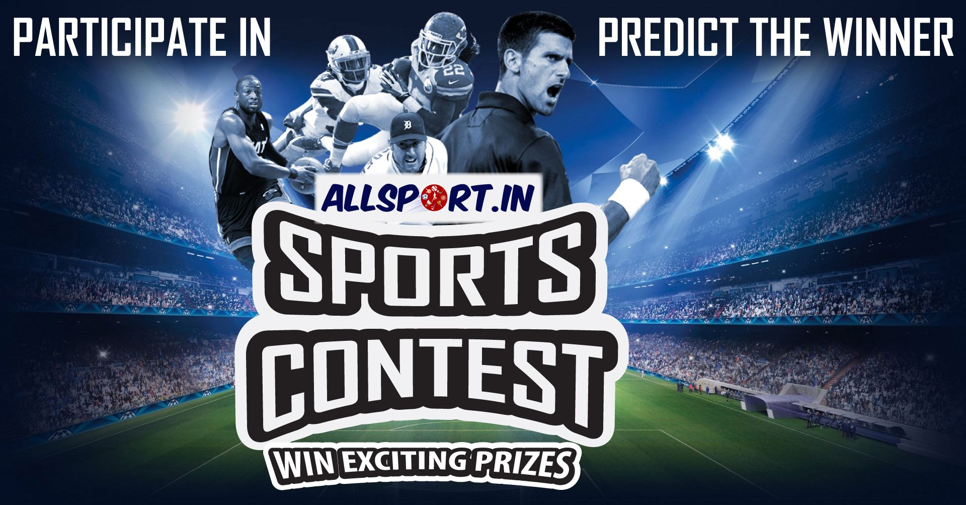 Participate in our daily sports contest of