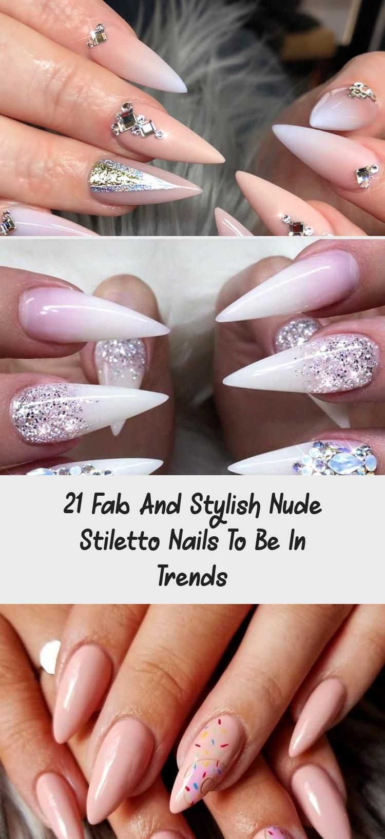 Photo of 21 Fab And Stylish Nude Stiletto Nails To Be In Trends – Nail Art