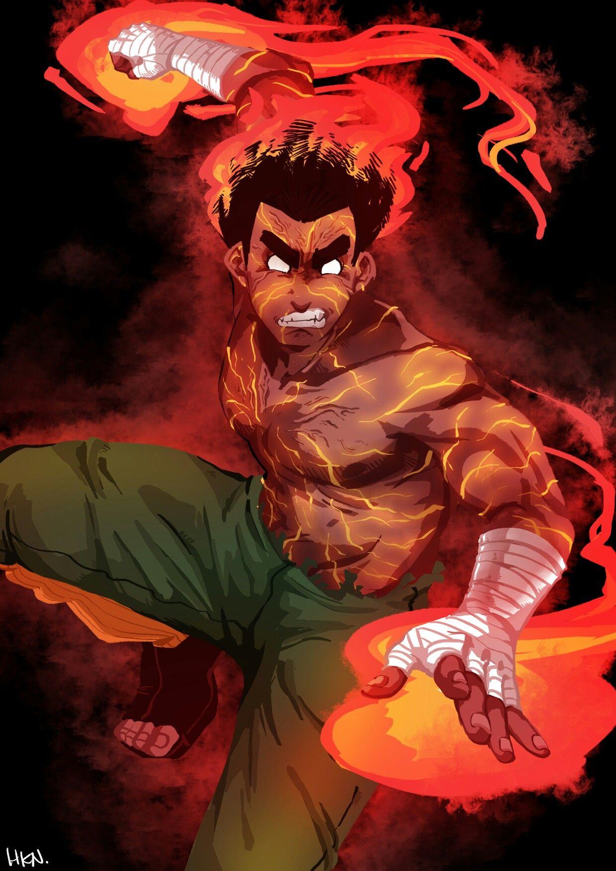 Rock Lee Personagens de anime, Naruto mangá, Anime