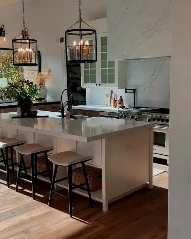 Pin De Mjmp En Isla Cocina Comedor Moderno Cocinas De Casa