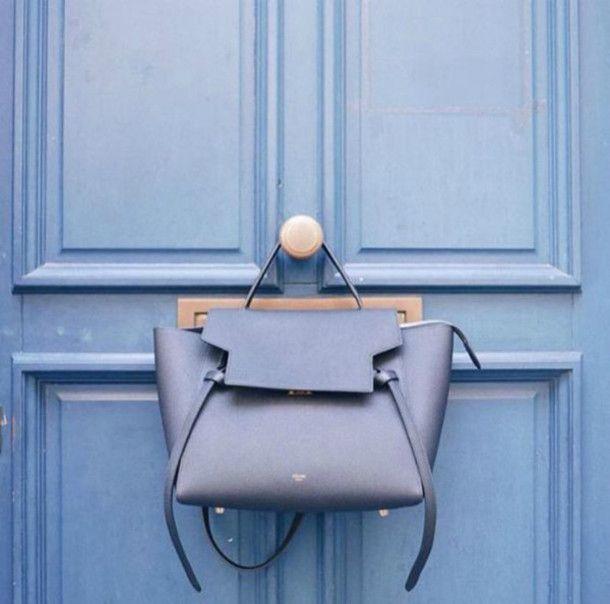 light blue celine bag