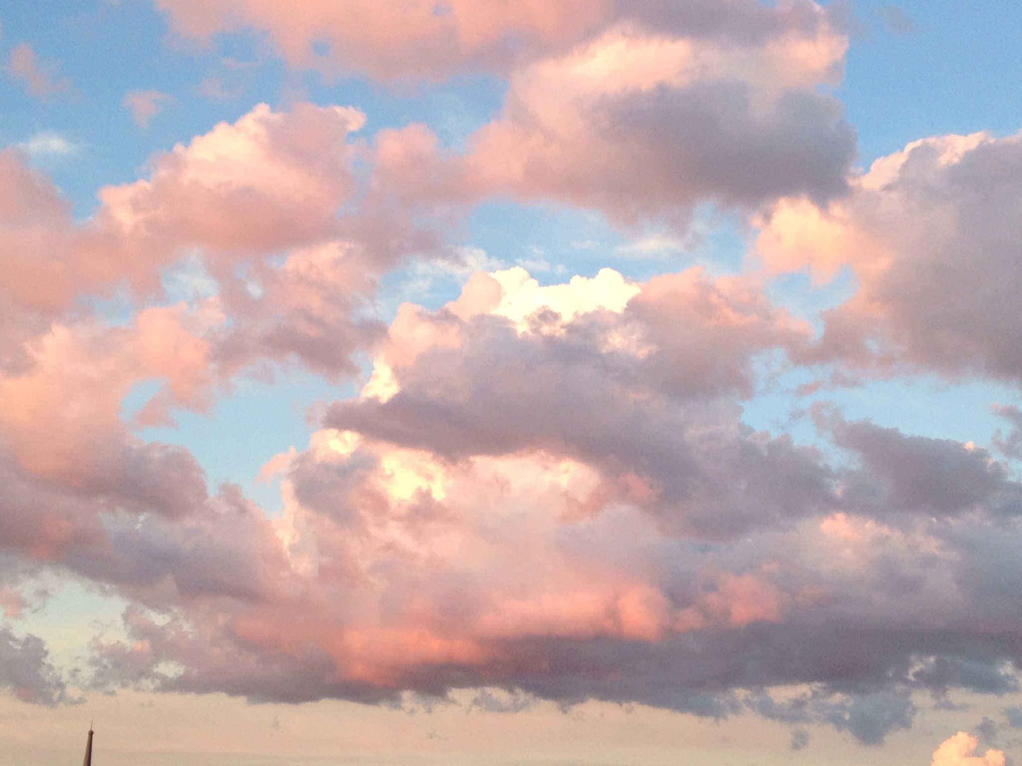 Aesthetic Wallpaper Pink Clouds