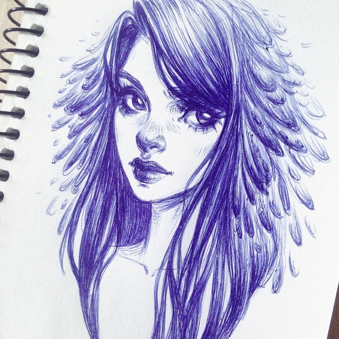 Polubienia 749 Komentarze 14 Maria Dimova Mary Dimary Na Instagramie Rough Pen Doodle Unlockingfishyroute 94 X Portrait Drawing Art Drawing People