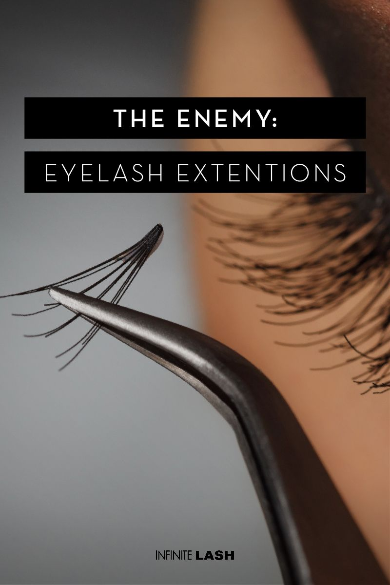 3 Enemies of Healthy Lashes: You may have heard about what happened to Kristen Chenoweth. She's probably the most famous person who ever talked about having issues with eyelash extensions. Learn more at: http://infinitelash.com/blog/eyelashes-falling-out/ #EyelashesFallingOut