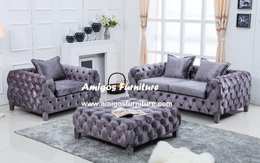 Velvet Chesterfield Sofa   Google Search