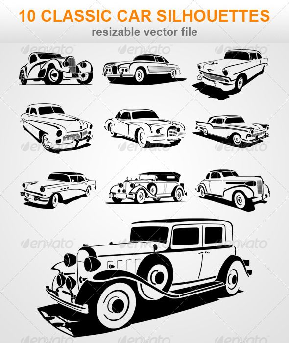 Pin By Vector Graphic On Vector Graphic Pingroup Car Silhouette