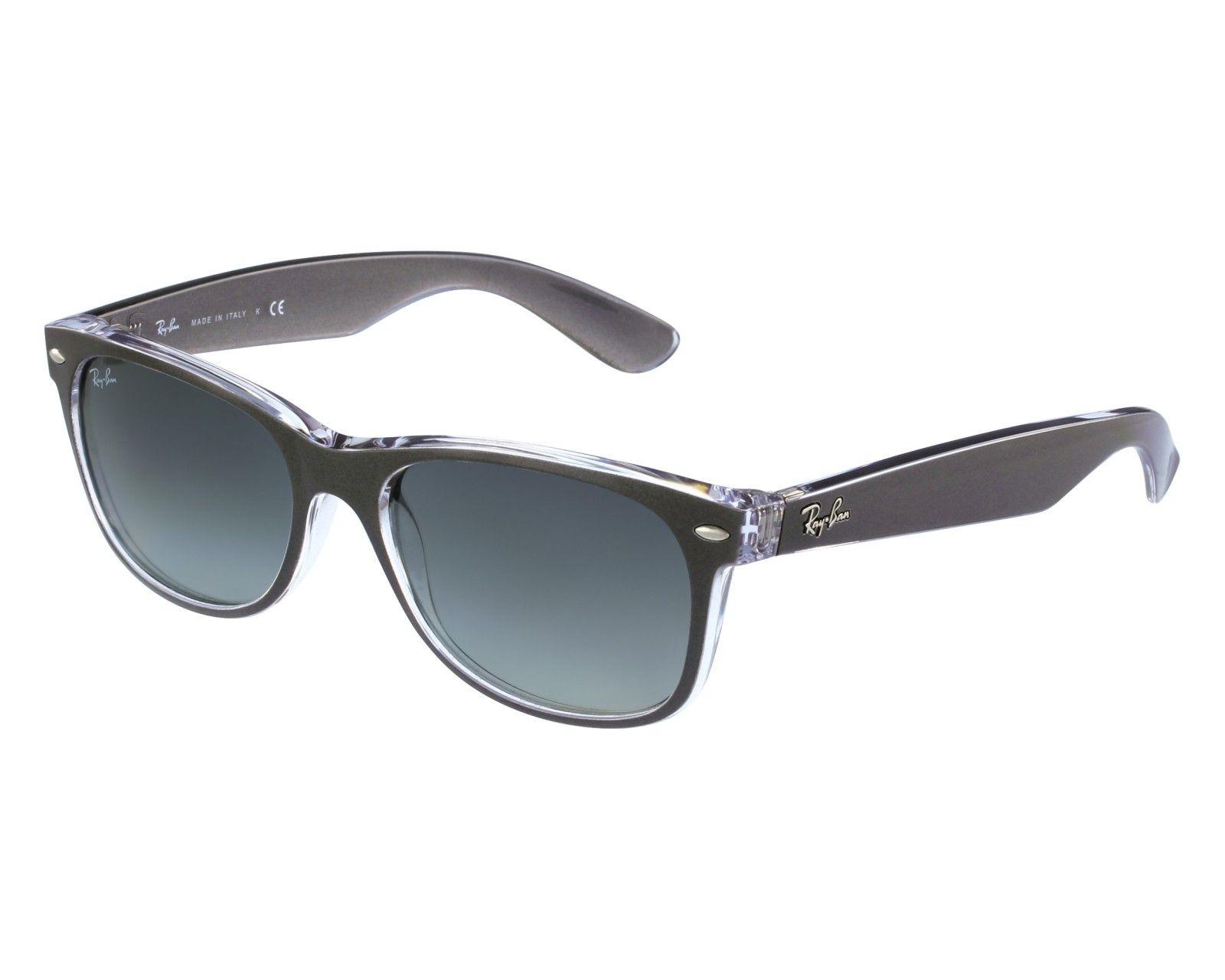 70c54867d5 Shop online for Ray Ban sunglasses RB2132 6143 71 New Wayfarer Dark Grey.  Item