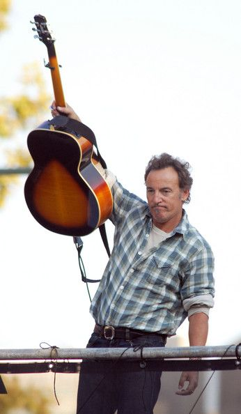 Bruce Springsteen Photos Photos: Bruce Springsteen Joins The Rally For Obama #brucespringsteen