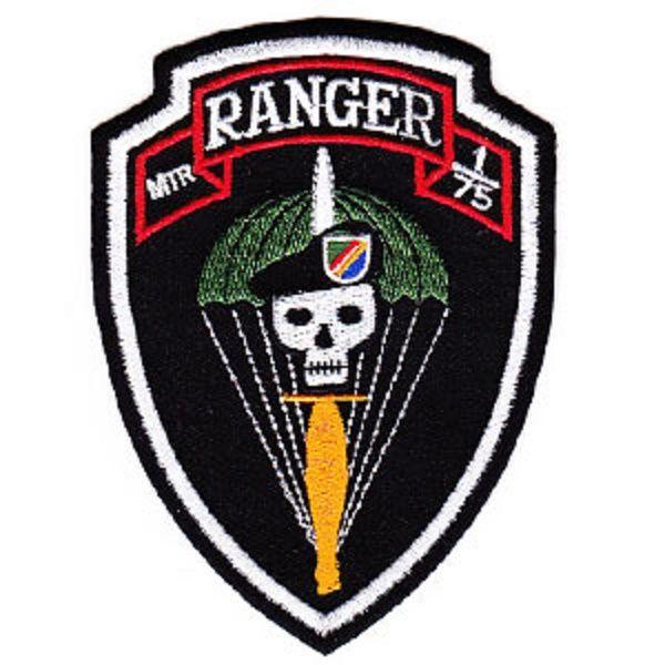 Mortar 175 Ranger Patch Usmy Special Airborne Commando