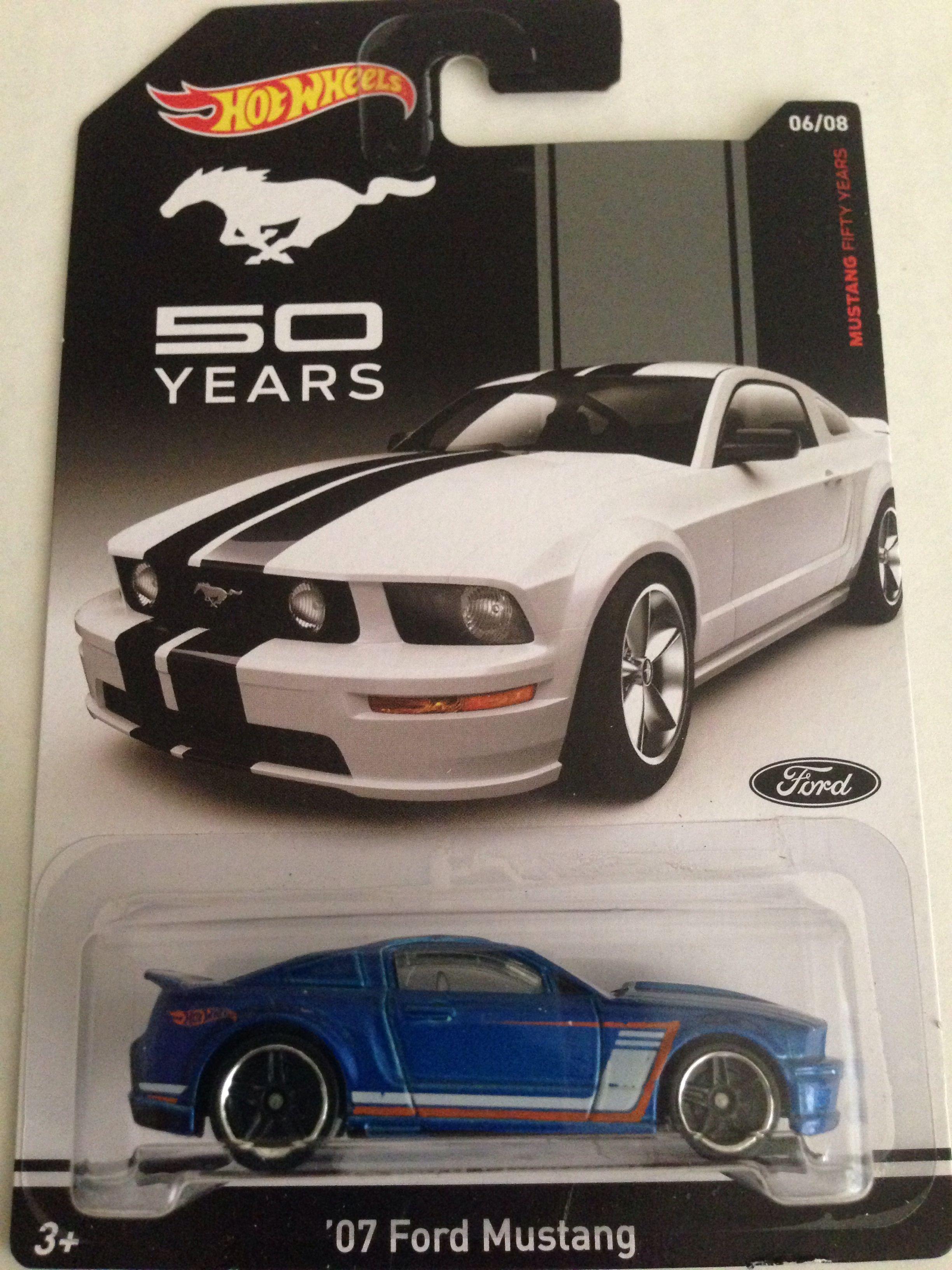 07 Ford Mustang Hot Wheels 2014 Mustang 50 Years 6 8 Hot