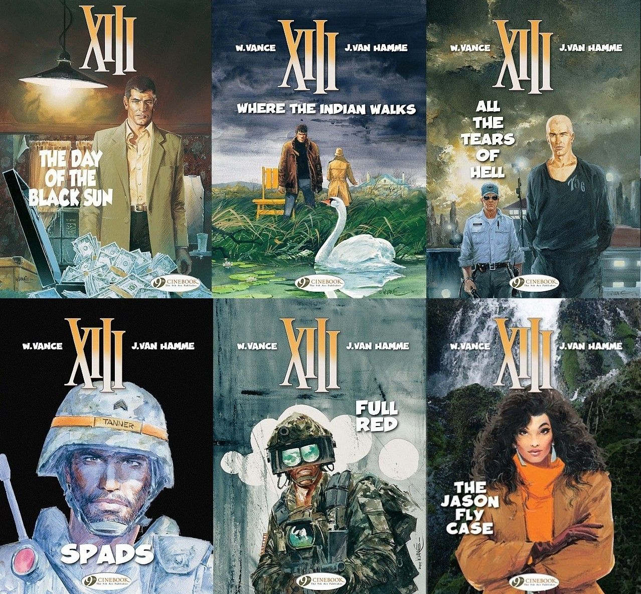 Xiii covers by w vance