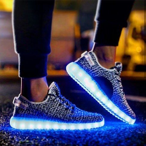 led chaussures nike