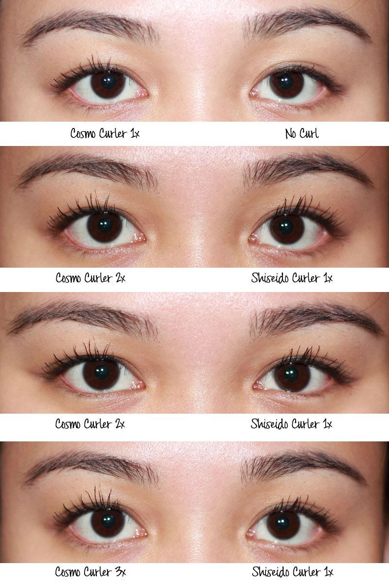 Semi Permanent Individual Eyelash Extensions Curl Eye Lash