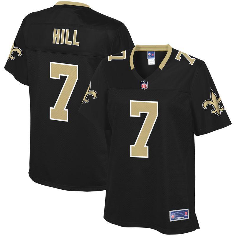 d42a6e80 Taysom Hill New Orleans Saints NFL Pro Line Women's Team Color ...