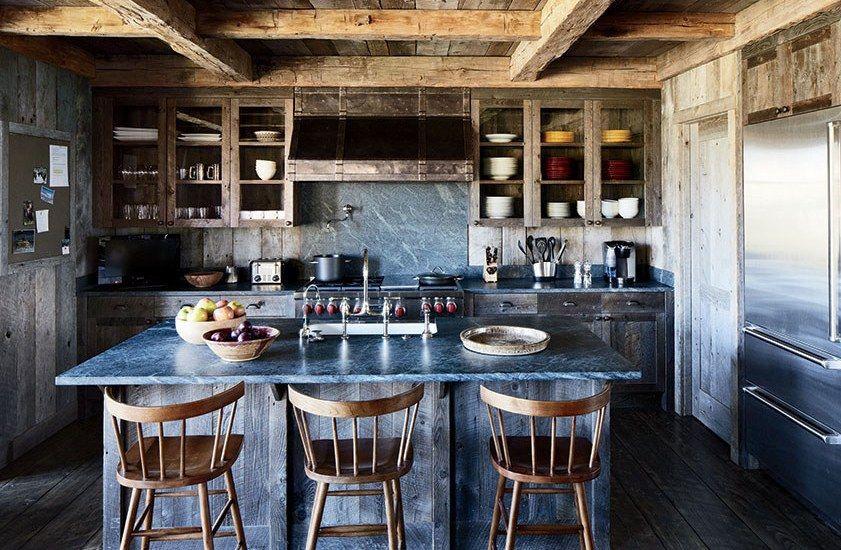 25 Best Industrial Kitchen Ideas To Get Inspired   Rustic kitchen ...