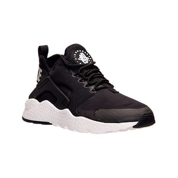 new arrival bcd4d 42647 Nike Women s Air Huarache Run Ultra Running Shoes, Black ( 115) ❤ liked on Polyvore  featuring shoes, athletic shoes, black, rubber shoes, kohl shoes, nike, ...