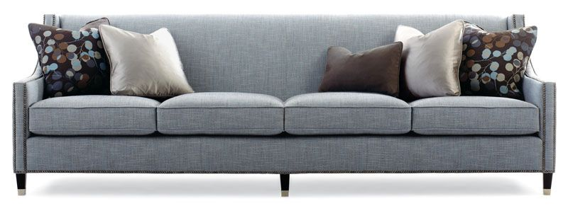 The Palisades Sofa by Bernhardt can be done with 3 or 4 cushions ...