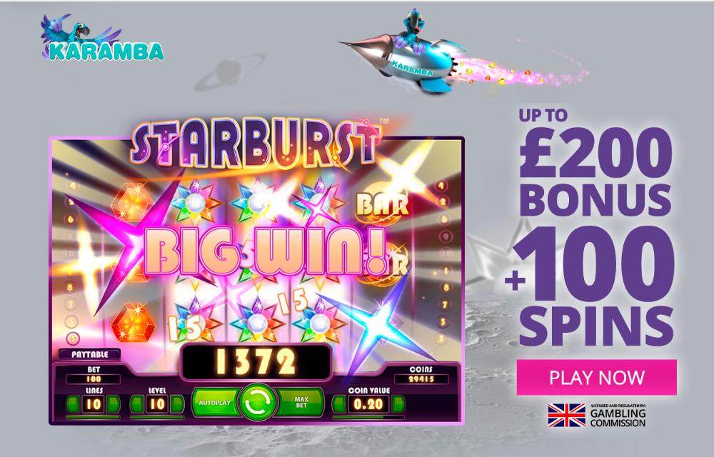 Karamba Casino 100 Bonus Plus 100 Free Spins Play Online Casino Best Casino Games Best Online Casino