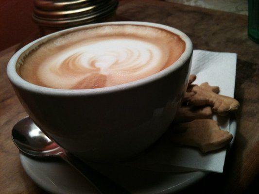 Booze & Coffee -- Tryst Coffee House Bar & Lounge -- 2459 18th St NW (Adams Morgan)
