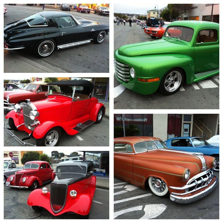 Classic car fair at Seaside CA | Events | Pinterest